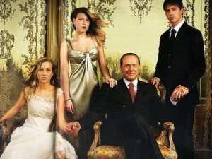 famiglia Berlusconi: Eleonora, Barbara e Luigi