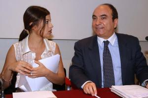 Domenico Scilipoti e Sara Tommasi